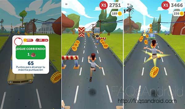 Run Forrest Run, un juego de estilo runner ambientado en la película