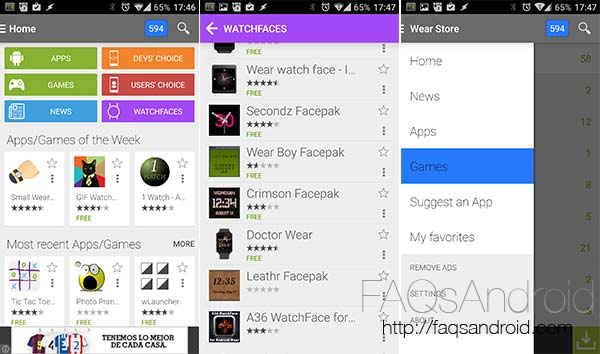 Wear Store: la mejor manera de encontrar apps compatibles con el smartwatch