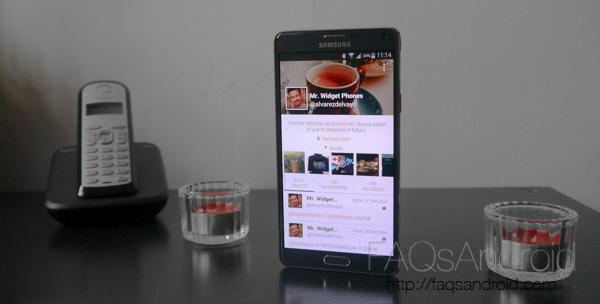 Samsung Galaxy Note 4: opinión personal