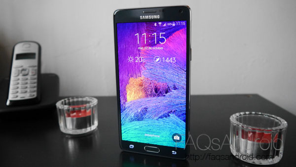 Los precios del Galaxy Note 4 con Movistar, Vodafone, Orange, Yoigo y Amena