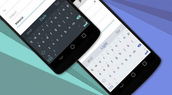 Themes con Material Design para SwiftKey