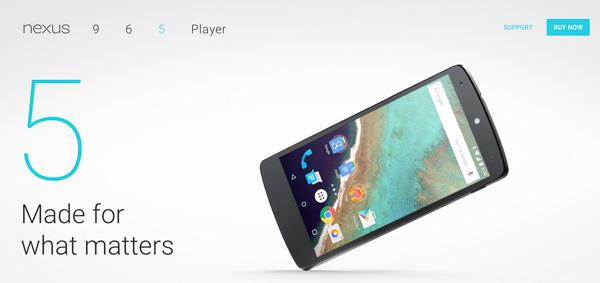 Del Nexus 5 al Nexus 6, el cambio de cromos que salió rana