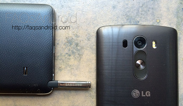 Samsung Galaxy Note 4 vs LG G3: comparativa en vídeo