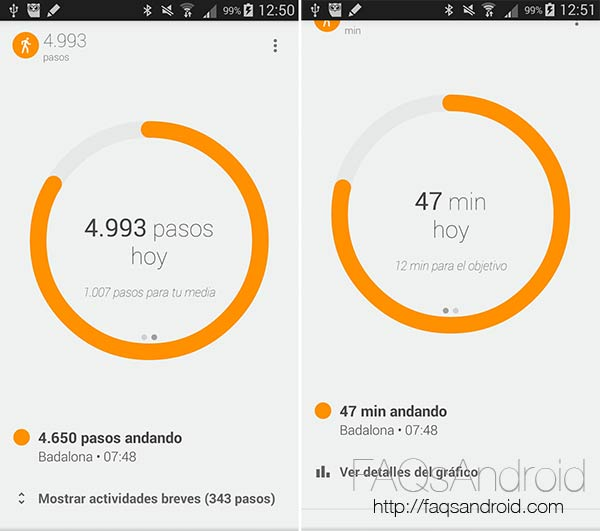 Google Fit, registro de actividad compatible con smartwatch Android Wear