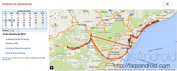 Un vistazo a fondo al historial de ubicaciones y cómo impedir que Google guarde nuestra situación