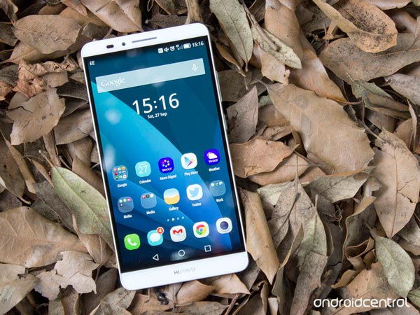 Review del Huawei Ascend Mate 7 en Android Central