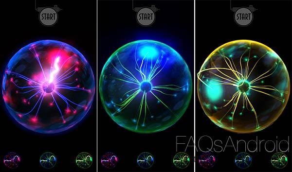 Plasma Lamp, juego y objeto decorativo en forma de app Android