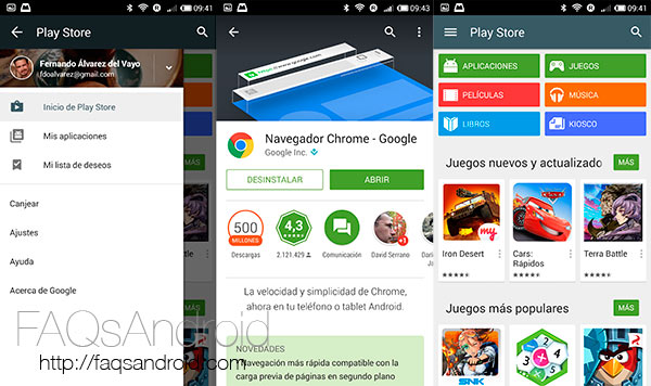 Google Play Store 5.0 APK listo para descargar