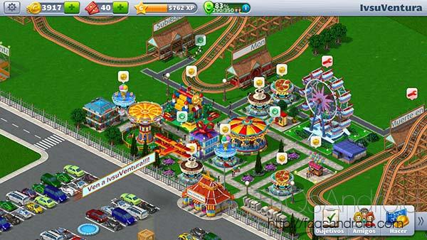 Vuelve a construir parques de atracciones: RollerCoaster Tycoon ya en Android