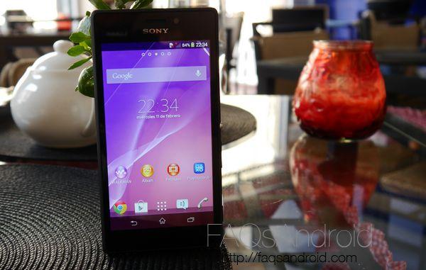Problemas e inconvenientes del Sony Xperia M2 y M2 Aqua