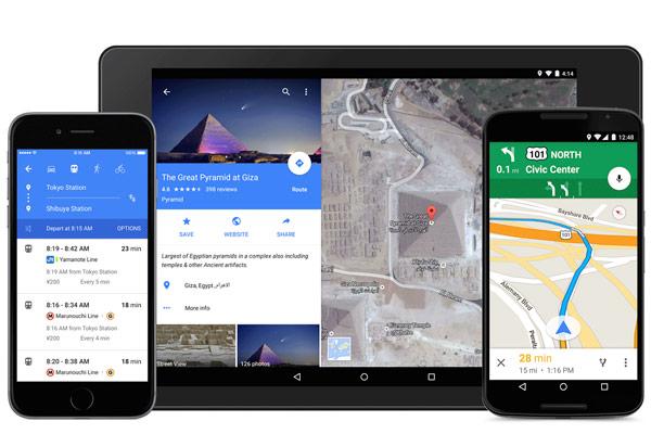 Google Maps 9.0 y material design ya se puede descargar