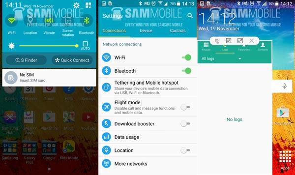 Así luce Lollipop en un Samsung Galaxy Note 3: vídeo y capturas