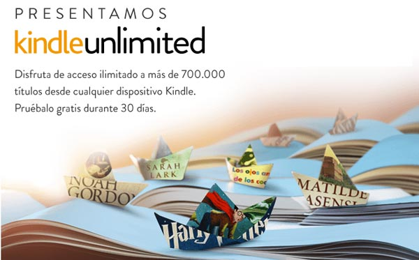 Lectura ilimitada en Android con Amazon Kindle Unlimited