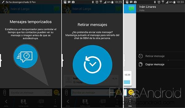 BlackBerry Messenger sigue subiendo en calidad: se actualiza con notables mejoras