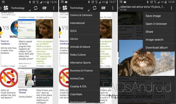 Clover, app para acceder a 4chan con cómodo visualizador de imágenes