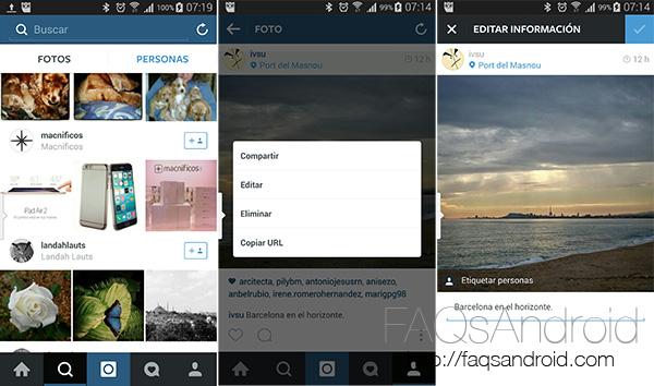 Actualización de Instagram: por fin podremos editar las descripciones de antiguas fotos