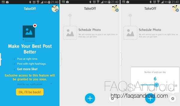 Cómo programar la subida de fotos a Instagram con TakeOff