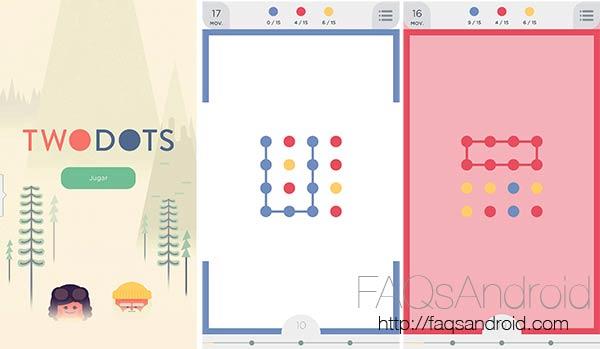 TwoDots, un juego de puzzles tan simple como unir puntos