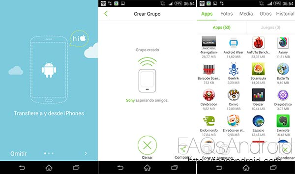 Comparte fotos, apps y otros archivos entre Android o iPhone gracias a Xender
