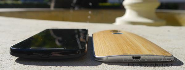 Motorola Moto G vs Motorola Moto X: parecidos y diferencias