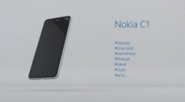 Nokia C1: el posible Nokia con Android de 2016