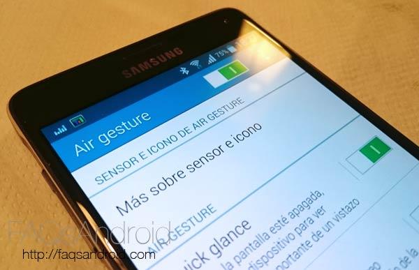 Cómo activar Air Gesture y Air View en un Samsung Galaxy note 4 sin ROOT