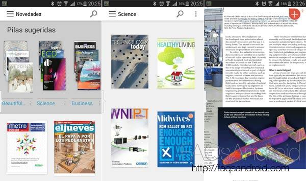 Las mejores aplicaciones para leer revistas en Android