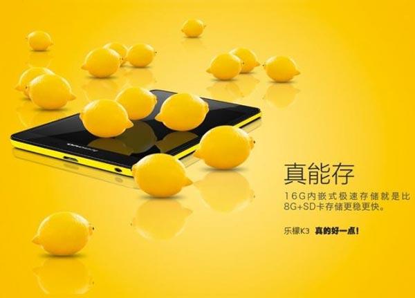 """Lenovo K3 Music Lemon, un """"Moto G"""" por 78 euros que no veremos en Europa"""