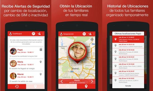 Ten localizados a tus hijos con Localizador Familiar para Android de Trecone