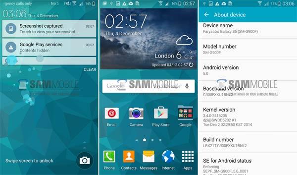Comienza la actualización a Android Lollipop 5.0 para el Samsung Galaxy S5: ya en Europa