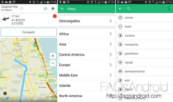 Maps.ME, una app de mapas offline gratuita con guiado de rutas