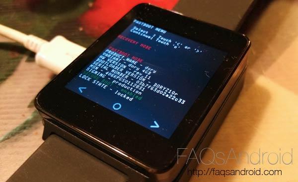 Cómo actualizar los smartwatch Android Wear por OTA manual a Lollipop 5.0.1
