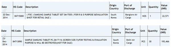 Samsung ya ultima los detalles de su Galaxy Tab 5 de 10 pulgadas