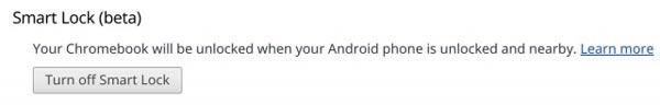 Cómo desbloquear tu Chromebook usando un móvil con Android 5.0 Lollipop