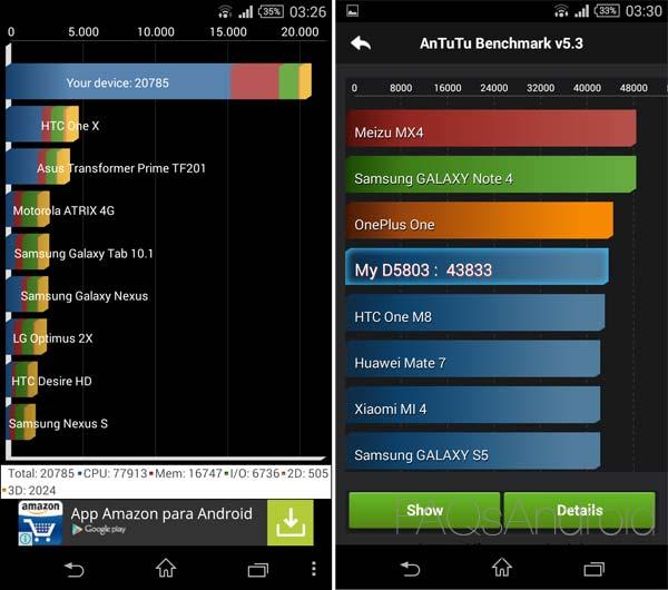 Análisis del Sony Xperia Z3 Compact: pequeño, pero matón