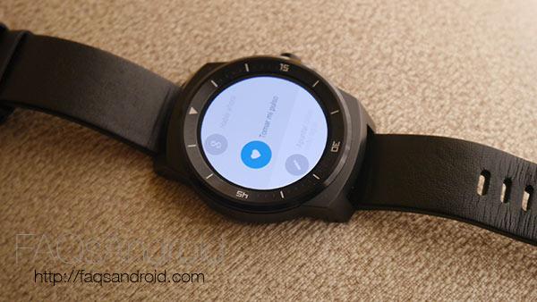 Análisis del LG G Watch R