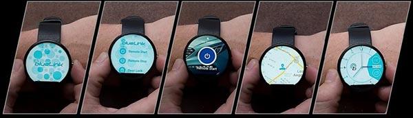 Hyundai nos dejará controlar nuestro coche desde el smartwatch