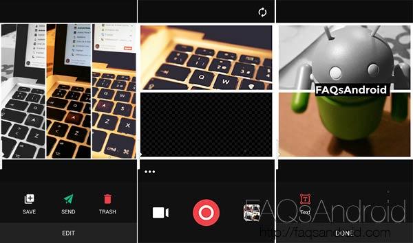 Camu, filtros en tiempo real para tus fotos con edición y collages