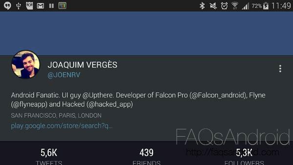 Desarrolladores que se toman en serio su proyecto: Joaquim Verges y Falcon Pro 3