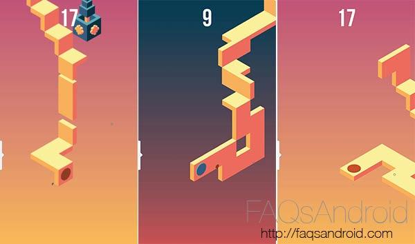 Skyward, habilidad sin fin en un juego de estética Monument Valley
