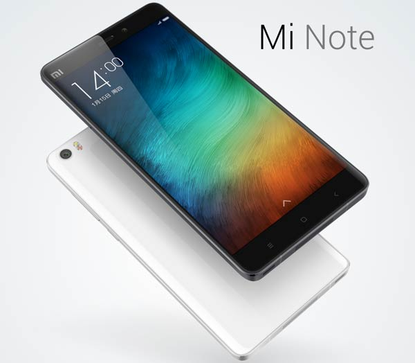 El Xiaomi Mi Note tiene cierto aroma a internacionalidad