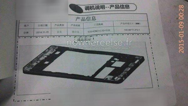 El Xiaomi Mi5 podría ser ultradelgado