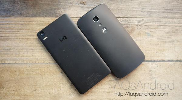 Motorola Moto G 2014 vs bq Aquaris E5 4G: comparativa