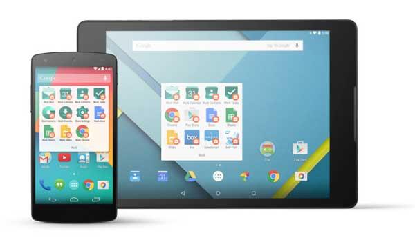 Tras conquistar el hogar, Google ataca la empresa con Android for Work