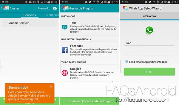 Disa, el anilló único de las apps de mensajería, ya en la Play Store