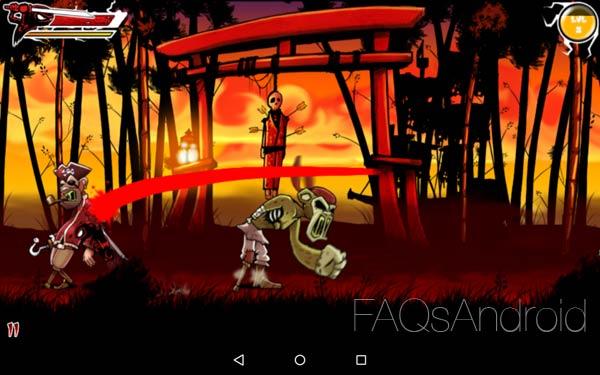 Draw Slasher, un juego de ninjas, zombis y mucha sangre
