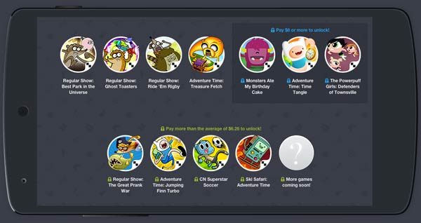 Humble Bundle para Android especial juegos de Cartoon Network