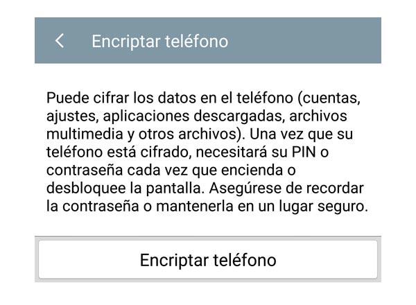 Para qué sirve y cómo activar el cifrado de datos en Android