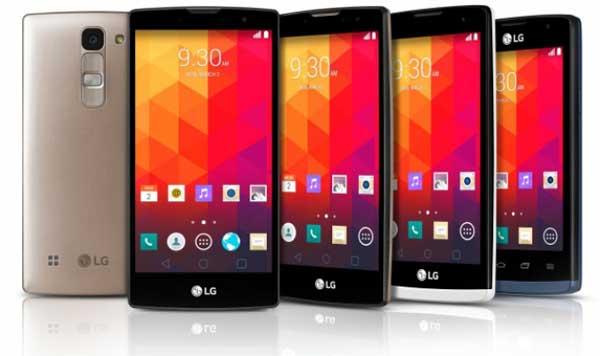 LG Magna, LG Spirit, LG Leon y LG Joy