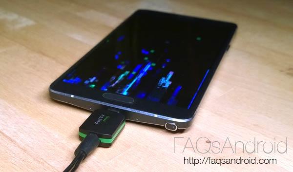 Análisis de MyGica, un receptor de TDT para móviles Android con USB OTG